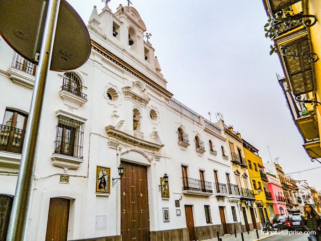 Sevilha, bairro de Triana, Capela dos Marinheiros