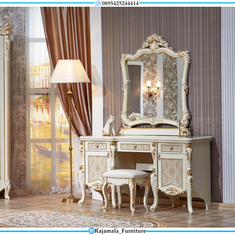 Meja Rias Jepara Mewah Terbaru Luxurious Style Furniture Jepara RM-0490