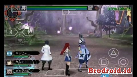 Download Fairy Tail Zelef Kakusei PSP ISO High Compressed Terbaru