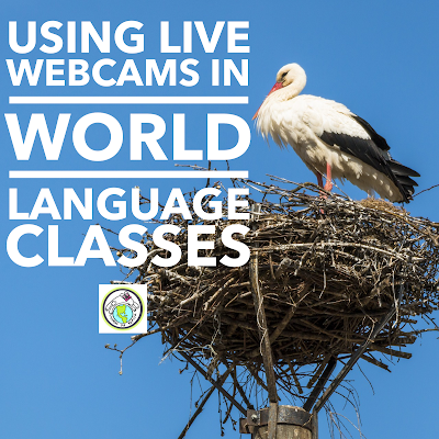 Live Webcams in World Language Classes to Foster Output