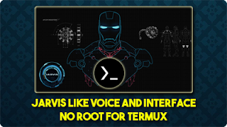 jarvis interface for termux