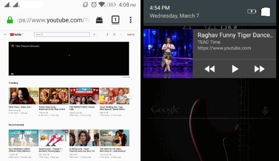 Memutar Video Youtube Di Background Android