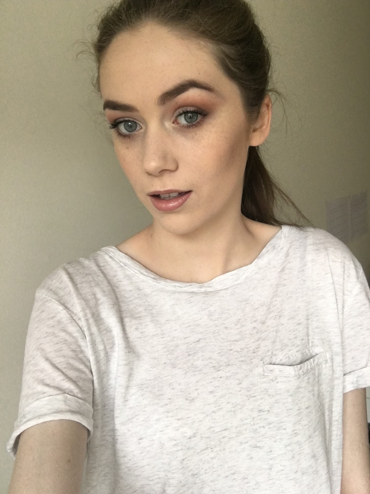 Everyday makeup look