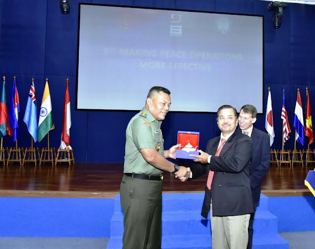 Kasum TNI: MPOME Jawab Tantangan Baru Operasi Pemeliharaan Perdamaian Dunia