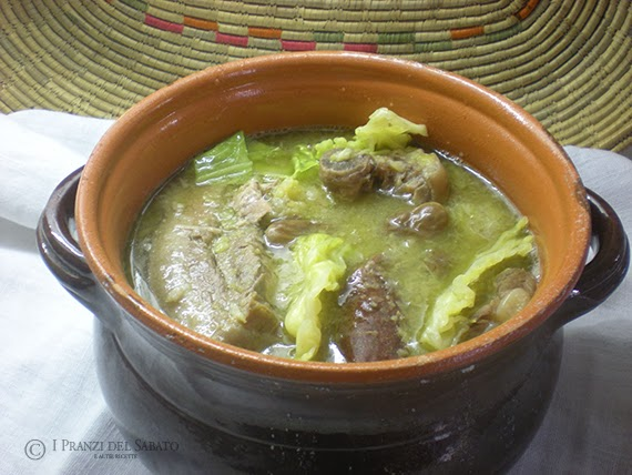 soup with pork and vegetables