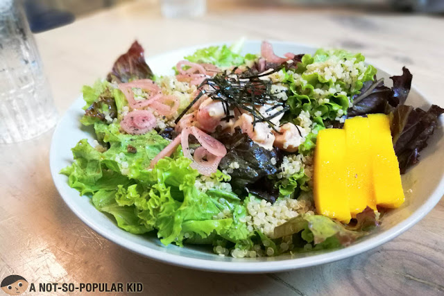 Salmon Poke Quinoa of Sunnies Cafe, BGC