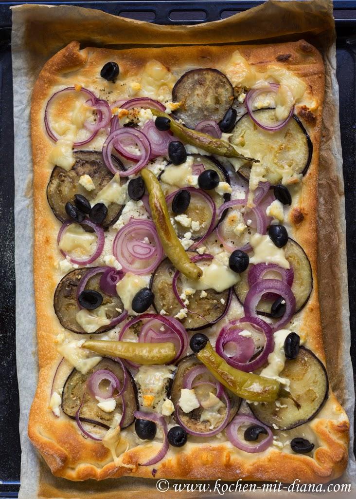 Blech-Pizza