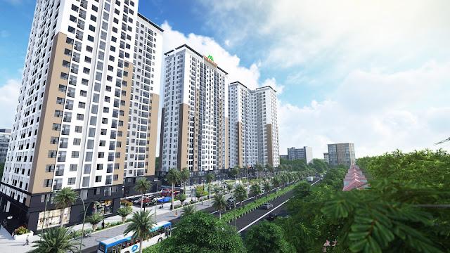 Cảnh quan dự án Xuân Mai Tower
