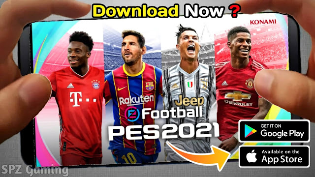 Download PES 2021 Mobile Official V5.0.0 Android High Graphics Original Logos and Kits