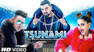 TSUNAMI LYRICS – Brownie | Bhinda Aujla