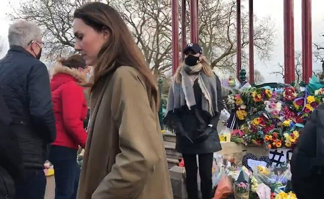 Duchess of Cambridge Kate Middleton on Saturday attended a vigil in London for murder victim Sarah Everard