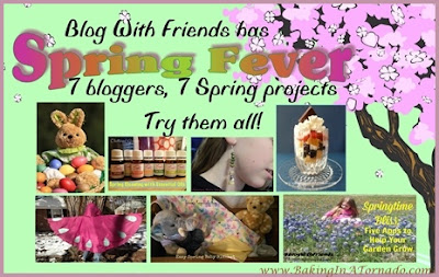 Blog With Friends: March Spring Fever | www.BakingInATornado.com |