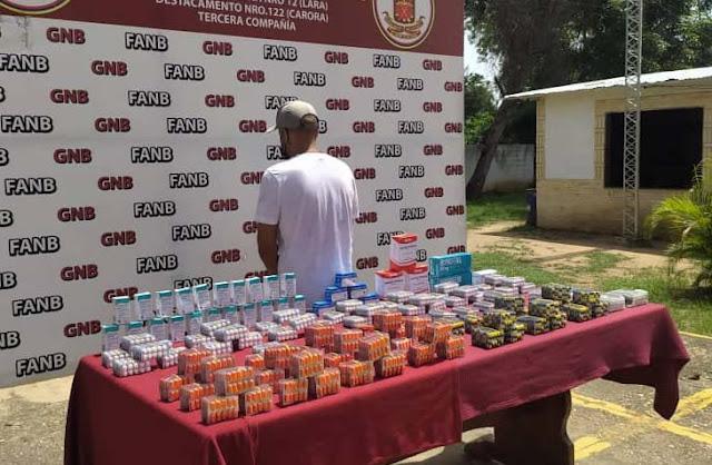 COMERCIALIZABA MEDICINAS DE USO INSTITUCIONAL