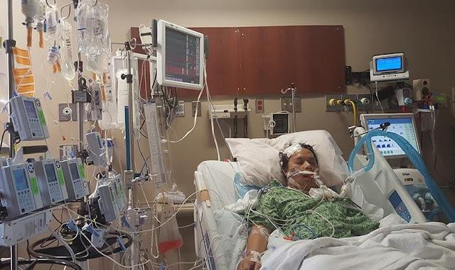 """Homem com hemorragia cerebral sobrevive pelas orações da esposa: """"Clamei por um milagre"""""""