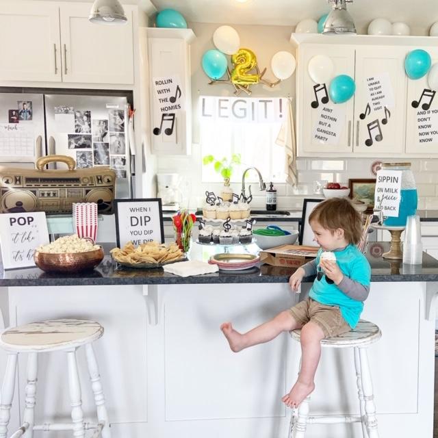 second birthday party idea