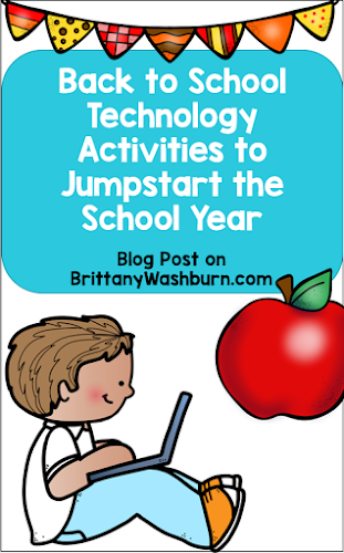 Here are a few ideas that technology teachers can use during the first month of school to get students excited for a year of tech learning.  Tech needs and interests differ as students grow, so there's a little something for every age level.  Each level also includes an unplugged activity in case you are still smoothing out your tech at the beginning of the year!