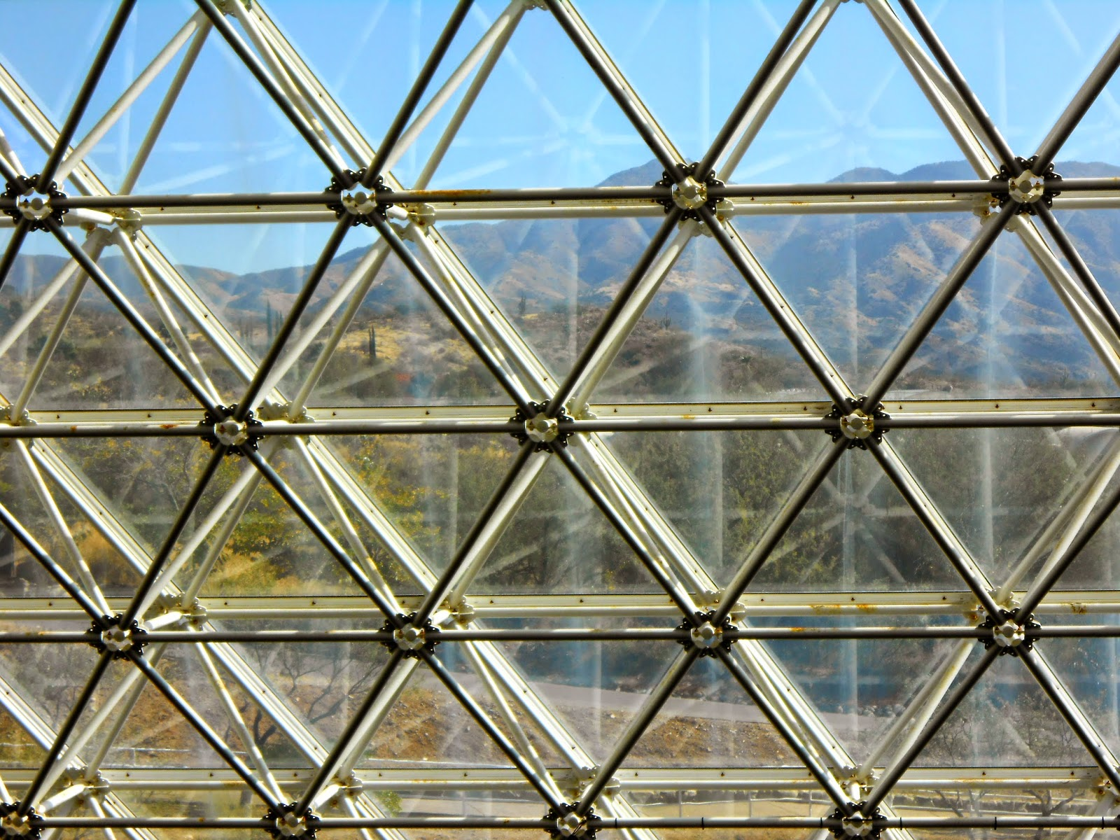 touring the biosphere II attraction in oracle arizona