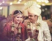palak jain with her husband
