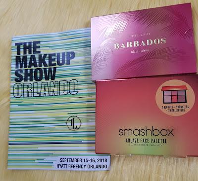 The Makeup Show Orlando 2018 face palettes haul - www.modenmakeup.com