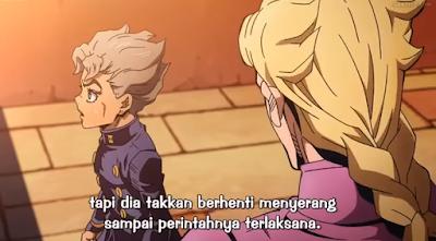 JoJo No Kimyou Na Bouken: Ougon No Kaze Episode 4 Subtitle Indonesia