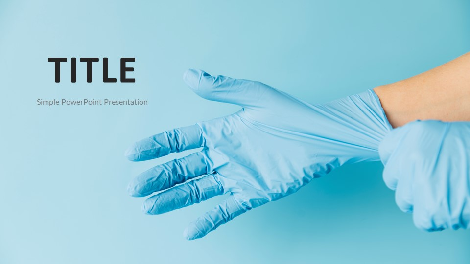 backgrounds-powerpoint-medical gloves