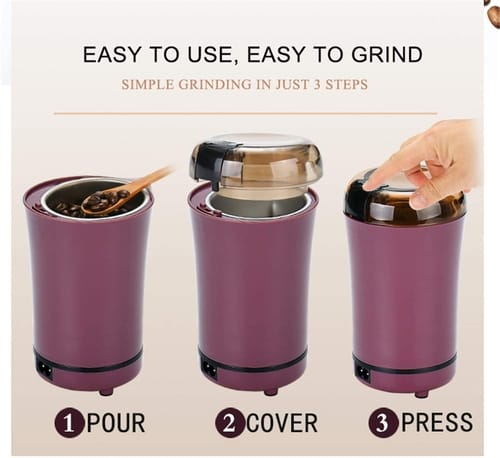 Boyuanrou small electric coffee grinder