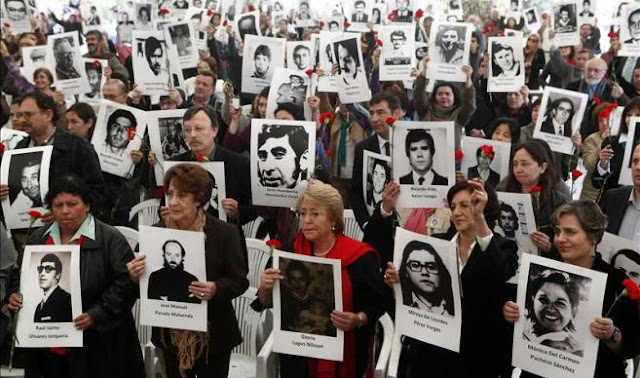 Protesta en Chile contra liberación de criminales de dictadura