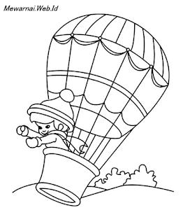 Mewarnai Balon Udara : mewarnai, balon, udara, Mewarnai, Balon, Udara, Dunia