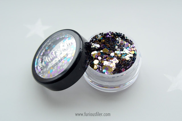 whats up nails neapolitan confetti pot review
