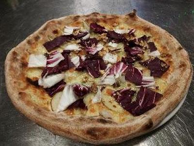 Pizza - Impasto Farina  tipo 2 macinata a pietra con germe di grano vivo