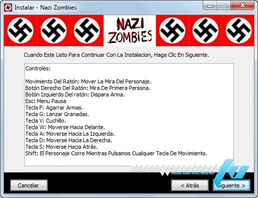 Nazi Zombies PC Descargar
