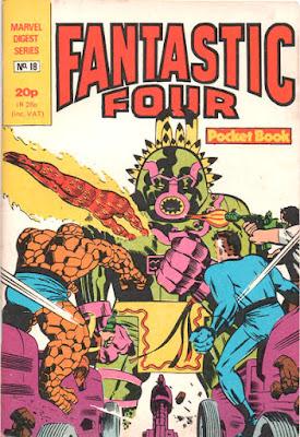 Fantastic Four pocket book #18, Tomazooma