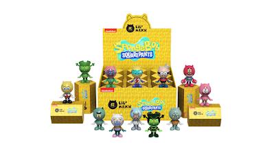 SpongeBob SquarePants Lil' Maxx Blind Box Series by Mighty Jaxx