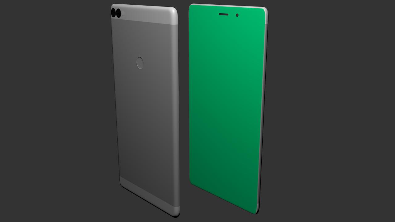 Free 3D Smartphone V2 .blend