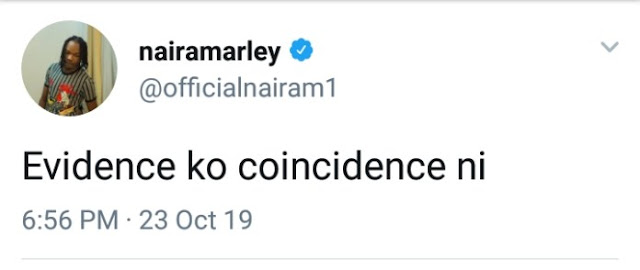 Naira Marley reacts to EFCC evidence against him