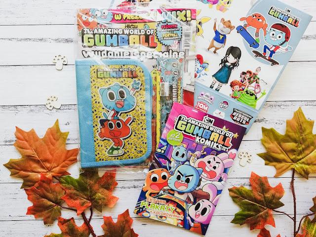 Gumball w roli głównej | The Amazing World Of Gumball. Wydanie specjalne |} The Amazing World Of Gumball Komiks | Wydawnictwo Edipresse.pl