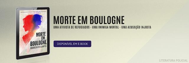 Banner Morte em Boulogne no Literatura Policial
