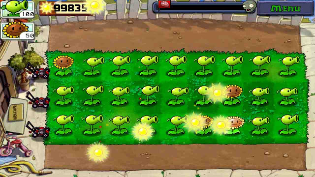 cheat plants vs zombie android no recharge