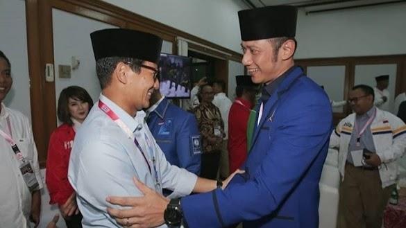 Ferdinand Demokrat Berhenti Dukung Prabowo, Sandiaga Ucapkan Terima Kasih