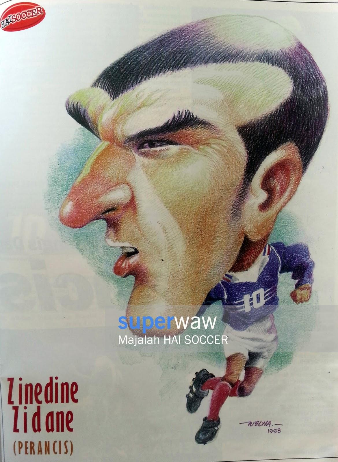 Karikatur Sepakbola HAI Soccer