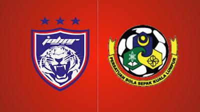 Live Streaming JDT FC vs Kuala Lumpur Liga Super 8.2.2019