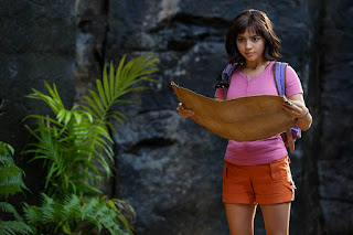 Download Dora and the Lost City of Gold (2019) Hindi Dual Audio 720p BRRip || MoviesBaba 1