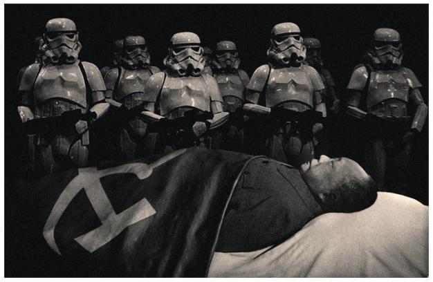 troopers fotomontaje  vintage