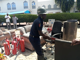 Fire Fighters Averts Fire Outbreak In NSGH