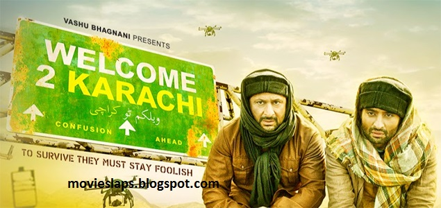 Welcome to Karachi full movie