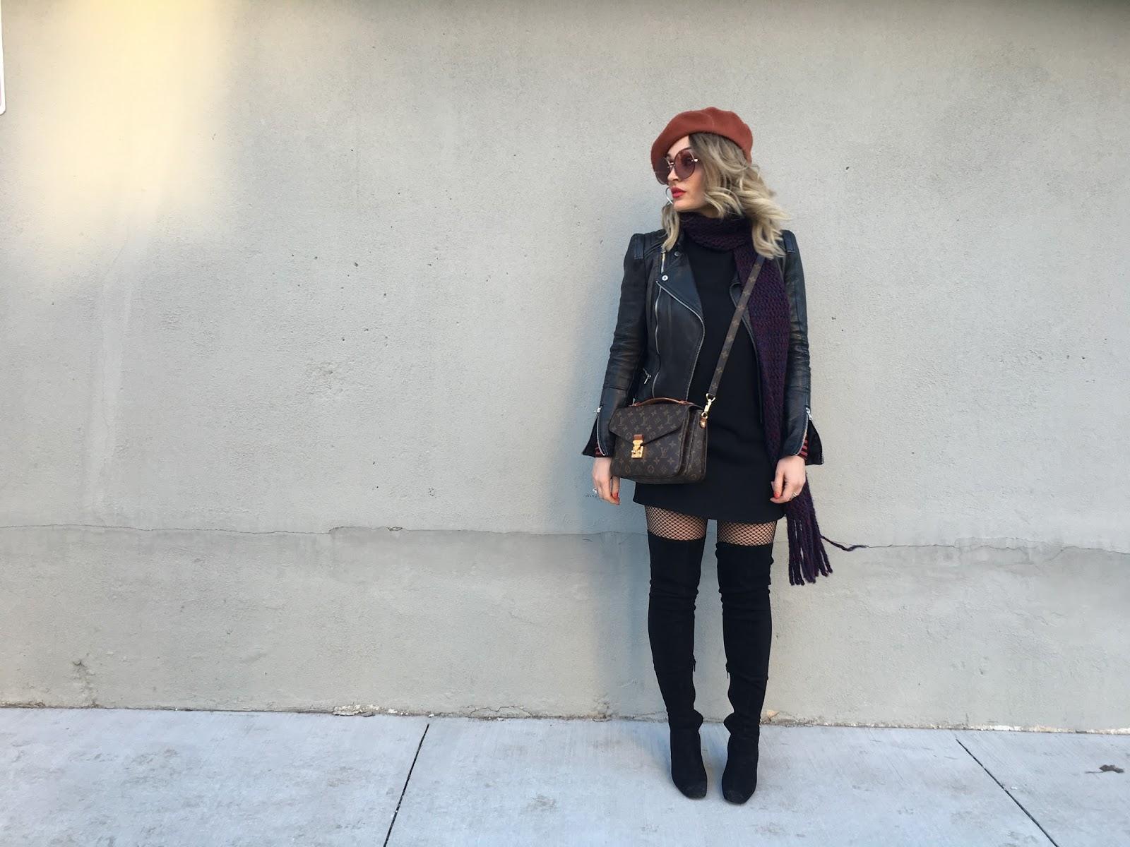 1af459aec664a All Black Outfit   a Beret
