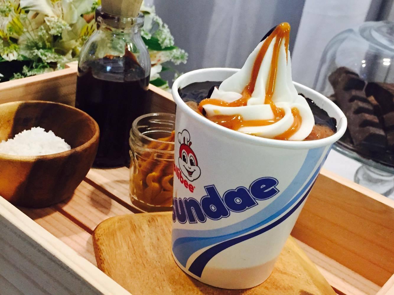 Jollibee Introduces Salted Caramel Choco Sundae ~ The ... Jollibee Sundae