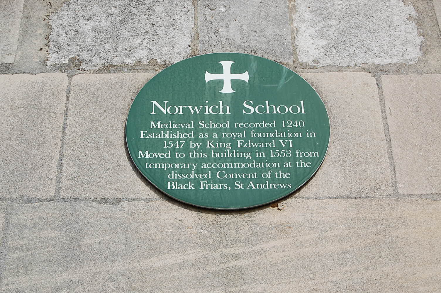so it was around 1815 that james brooke started school at norwich grammar school see map above to locate norwich the school is a very old one and still