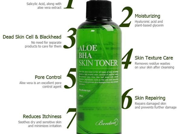 BENTON Aloe BHA Skin Toner (Malaysia)