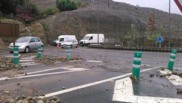 Máxima alerta por viento en Gran Canaria e islas occidentales, miércoles 28 febrero